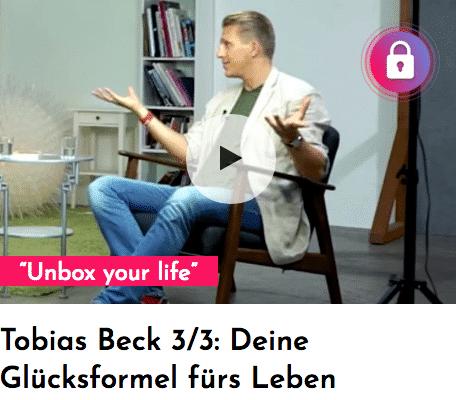 Glücksformel: Tobias Beck verrät sie im Interview