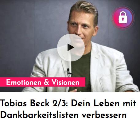Persönlichkeitsentwicklung: Tobias Beck im Interview