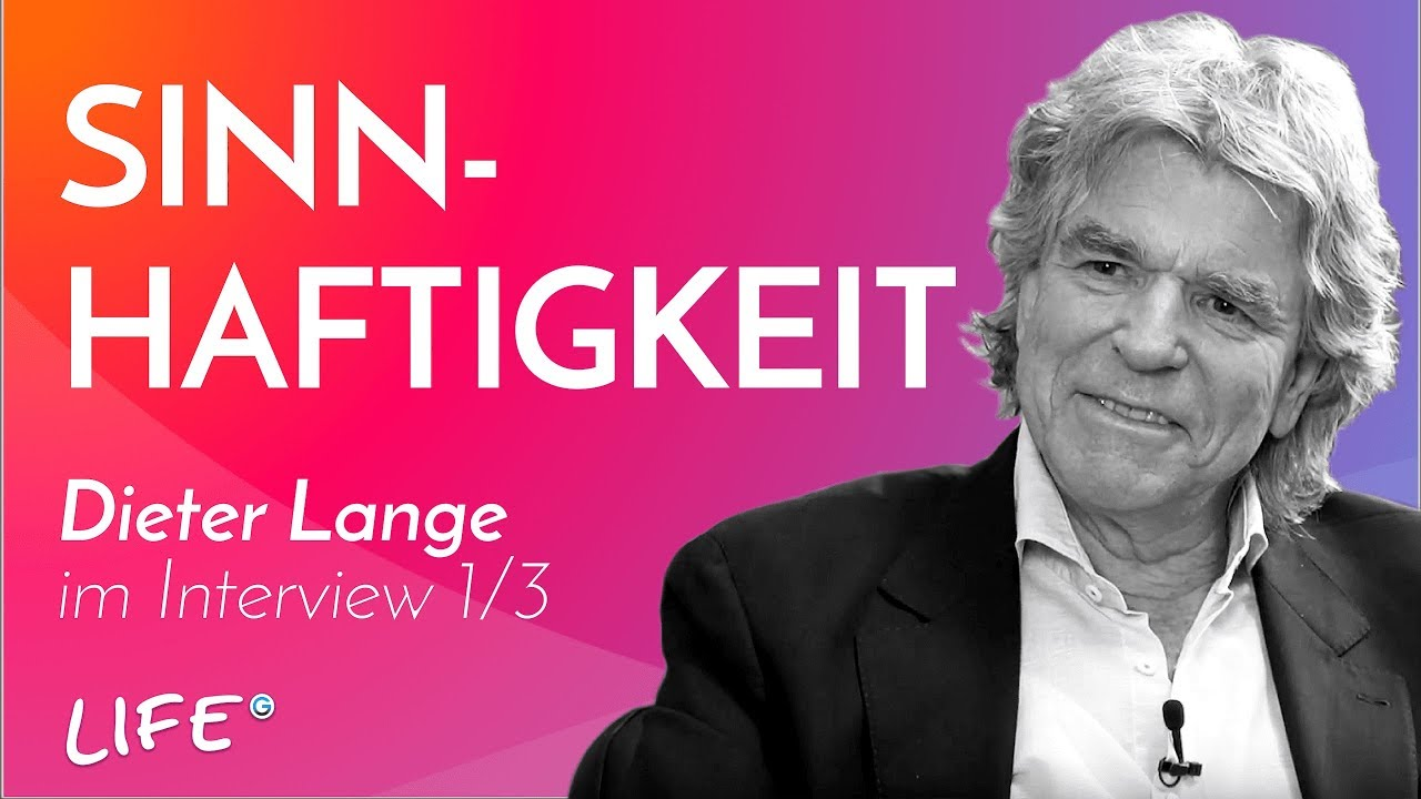 Dieter Lange In An Interview The North Star Of Life