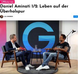 Daniel Aminati im Interview: Leben auf der Überholspur