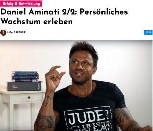 Daniel Aminati im Interview: Persönliches Wachstum erleben