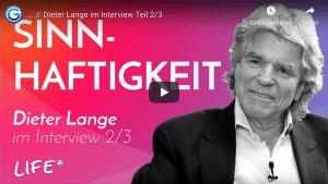 Dieter Lange im Interview: Spiritualität & Schlüsselmomente