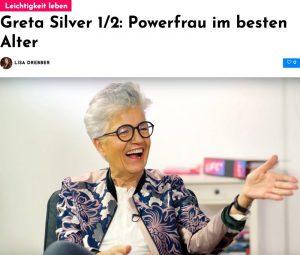 Greta Silver im Interview: Powerfrau im besten Alter
