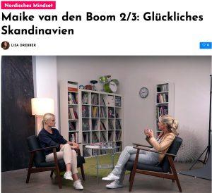 Maike van den Boom im Interview: Glückliches Skandinavien