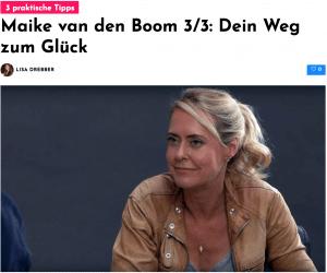 Maike van den Boom im Interview: Dein Weg zum Glück