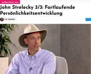 John Strelecky im Interview: Fortlaufende Persönlichkeitsentwicklung
