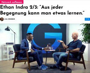 """Ethan Indra im Interview: """"Aus jeder Begegnung kann man etwas lernen."""""""