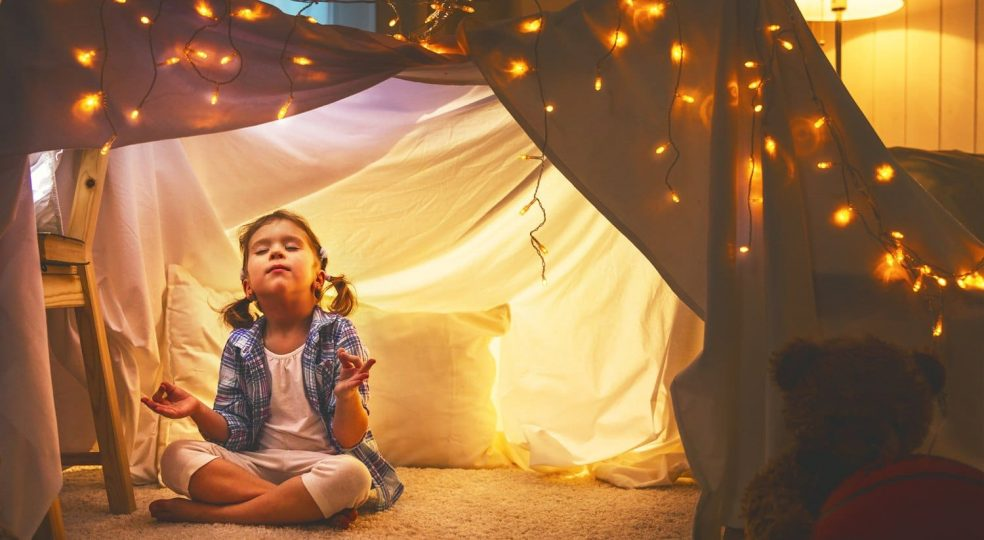 Children's meditation: How little ones learn to deal with feelings