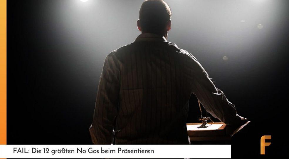 Rede halten: Die 12 größten No Gos beim Präsentieren