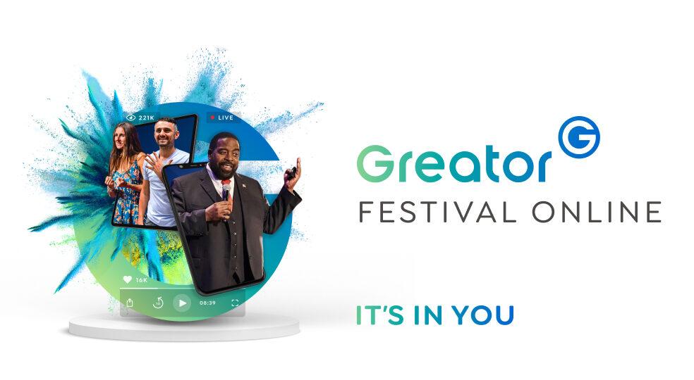 Greator veranstaltet das weltweit größte Online-Festival für Coaching & Persönlichkeitsentwicklung