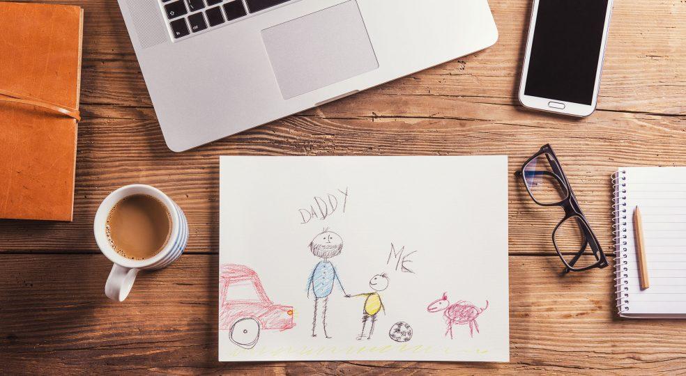 Berufstätige Väter: Zwischen altem und neuem Rollenbild